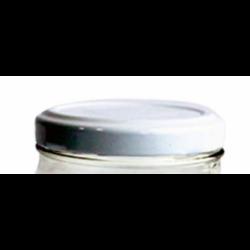 Tapa de plastico para envases de vidrio.