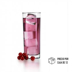 Vaso de vidrio de 11,7 onzas