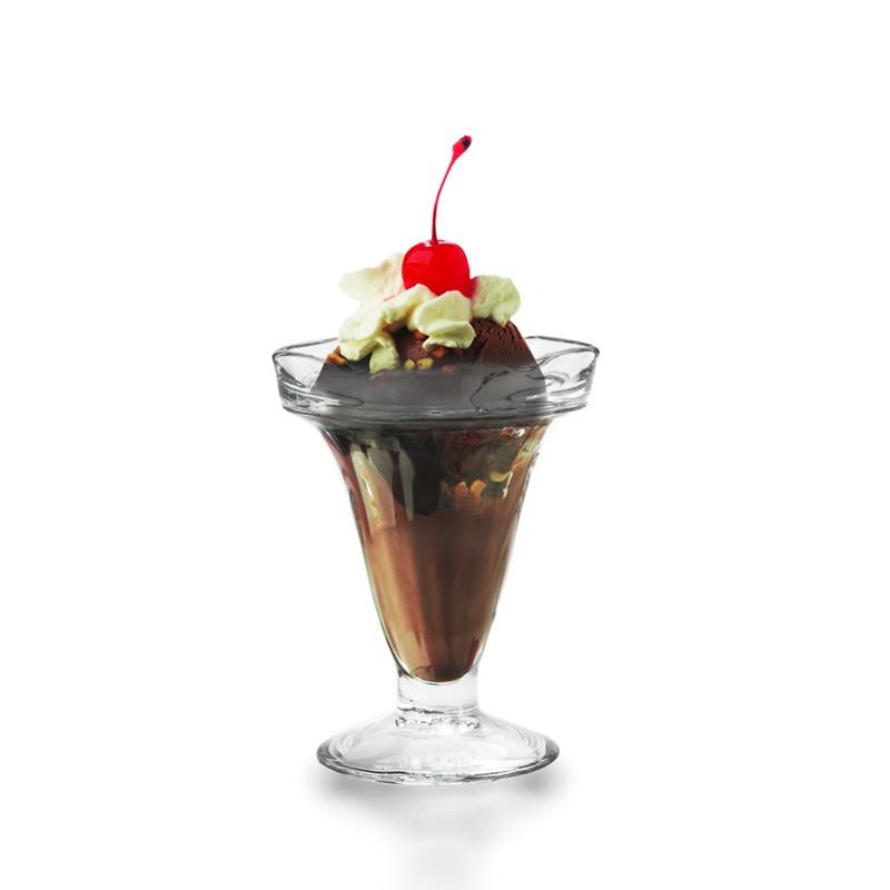 Envase de vidrio de 8 onzas con tapa Twist Off blanca