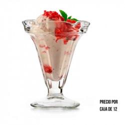 Envase de vidrio de 8 onzas
