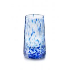 Envase de vidrio de 16 onzas con tapa blanca