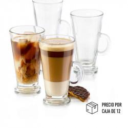 Vaso de vidrio largo de 16 onzas