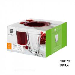 Vaso de vidrio de 8.2 Onzas