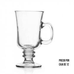 Vasos de vidrio Kristalino Crisa de 10.5 Onzas